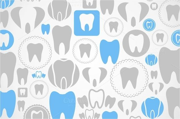 Tooth a background by Vector on @creativemarket