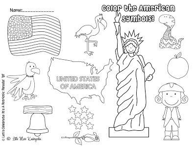55 best images about kindergarten president 39 s day on for Constitution day coloring pages kindergarten