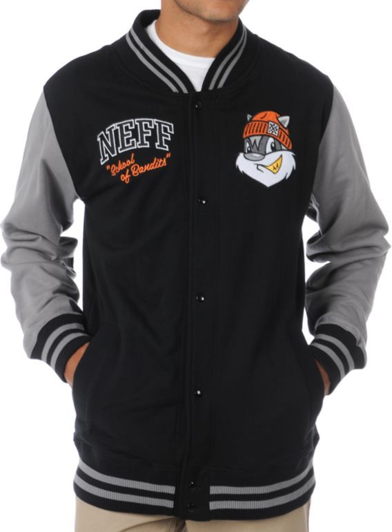 Letterman Fleece Jacket