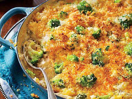 Cheesy Broccoli-and-Rice Casserole Recipe | MyRecipes