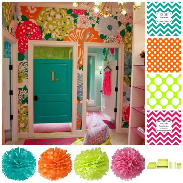 Lily Pulitzer Inspired Classroom Décor: Love, Love, LOVE!
