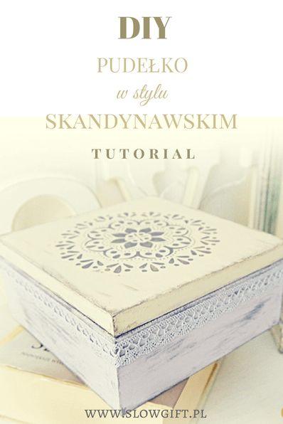 snandinavian style, container, kitchen decor, DIY / Pudełko na herbatę w stylu skandynawskim - Slow gift