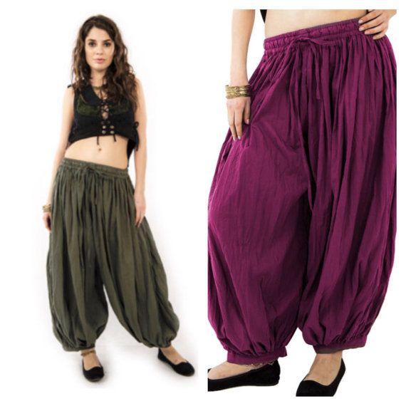 UNISEX HAREM PANTS, yoga trousers, harem pants men, harem pants, aladdin pants, Votrla