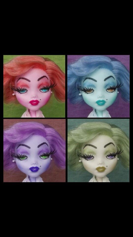 Marilyn Monroe monster high custom
