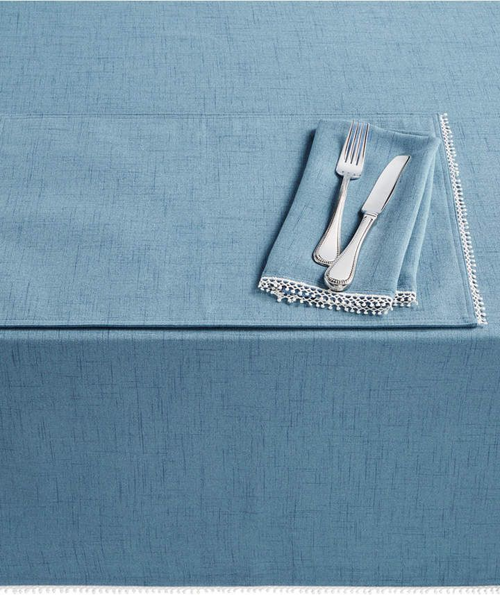 Lenox French Perle Denim Table Linen Collection Reviews Table