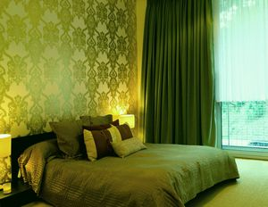 Зеленая спальня |