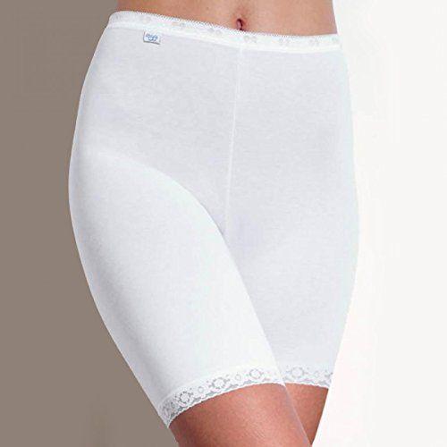 Sloggi 6 Pack Basic Long women's Briefs Long Leg Knickers color white