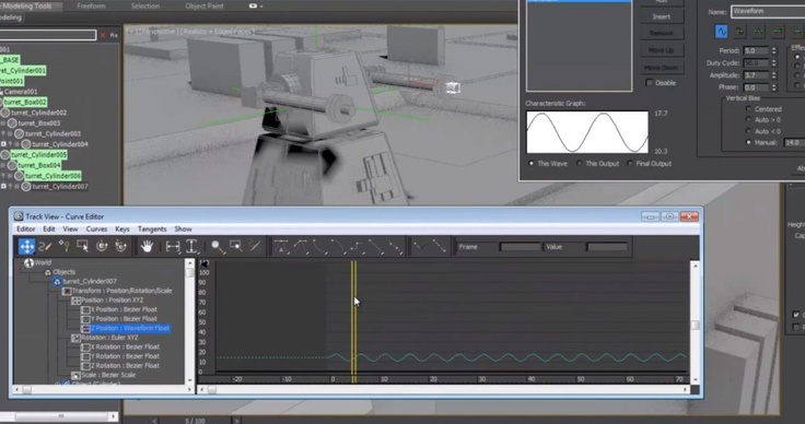 Animation in 3ds Max - Tutorials Learn the basics of animation in 3ds MAx, Controllers, Constraints, and Wired Parameters in this official video tutorial by Autodesk