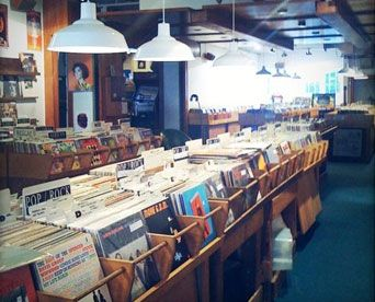 Zulu Records - Record Store Picture - Vancouver, BC