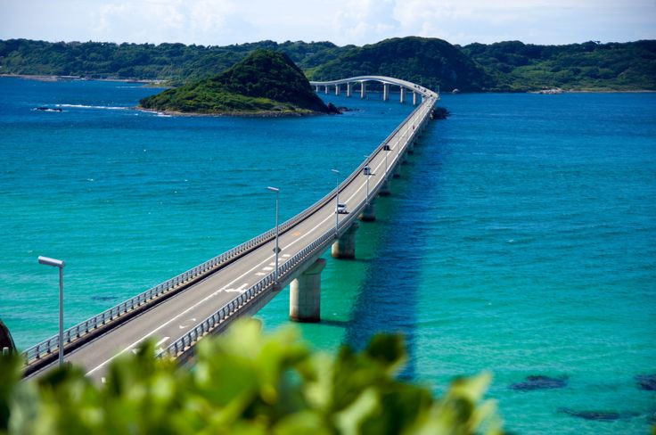 角島大橋の絶景・見所まとめ!信じがたいレベルに美しかった…