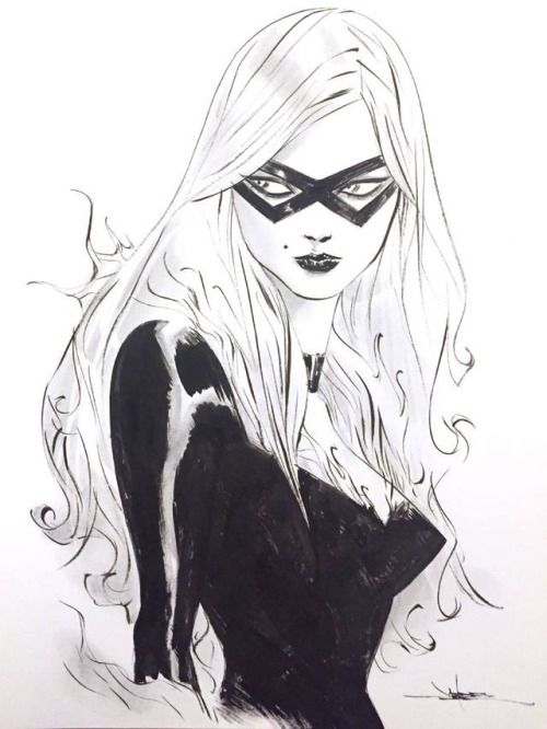 bear1na: «Черный кот, Капитан Америка, Человек-паук ...