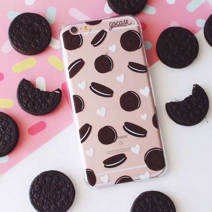 É muito amor por #oreo. Diz se não é verdade! {case: recheado}  [NA COMPRA DE DUAS GOCASES VOCÊ GANHA 50% OFF NA TERCEIRA]  #gocasebr #instagood #iphonecase #biscoito #chocolate #blcknov #gocaseblack #recheado #amogocase