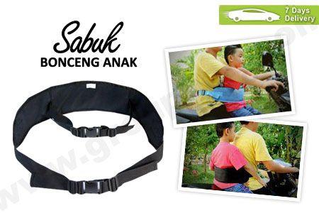Sabuk Bonceng Anak membuat berkendara motor bersama si kecil jadi aman hanya Rp 49.900 http://groupbeli.com/view.php?id=427