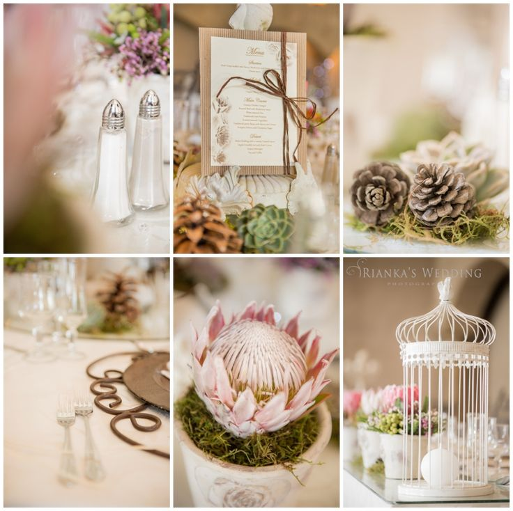 vintage wedding decor flowers | Rianka's Wedding Photography