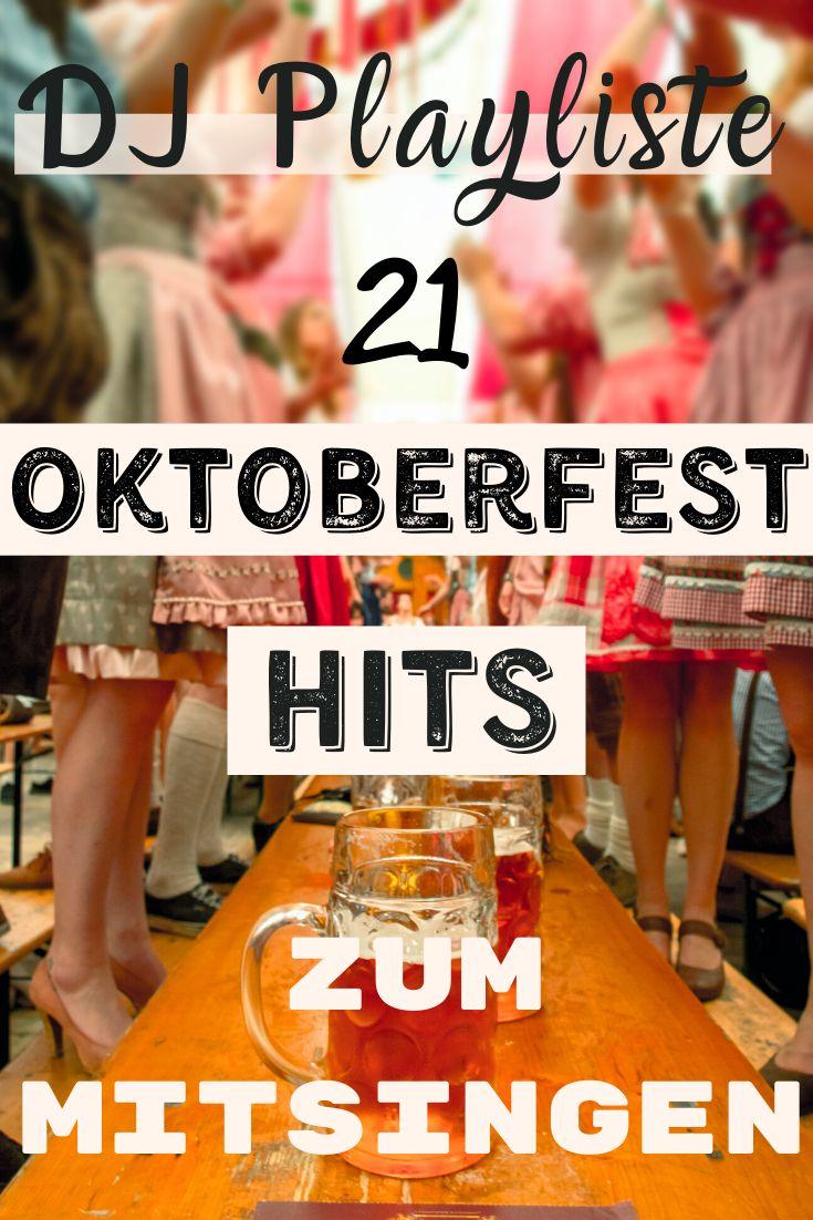 Oktoberfest Lieder Liste