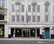Alexander McQueen Boutique in London