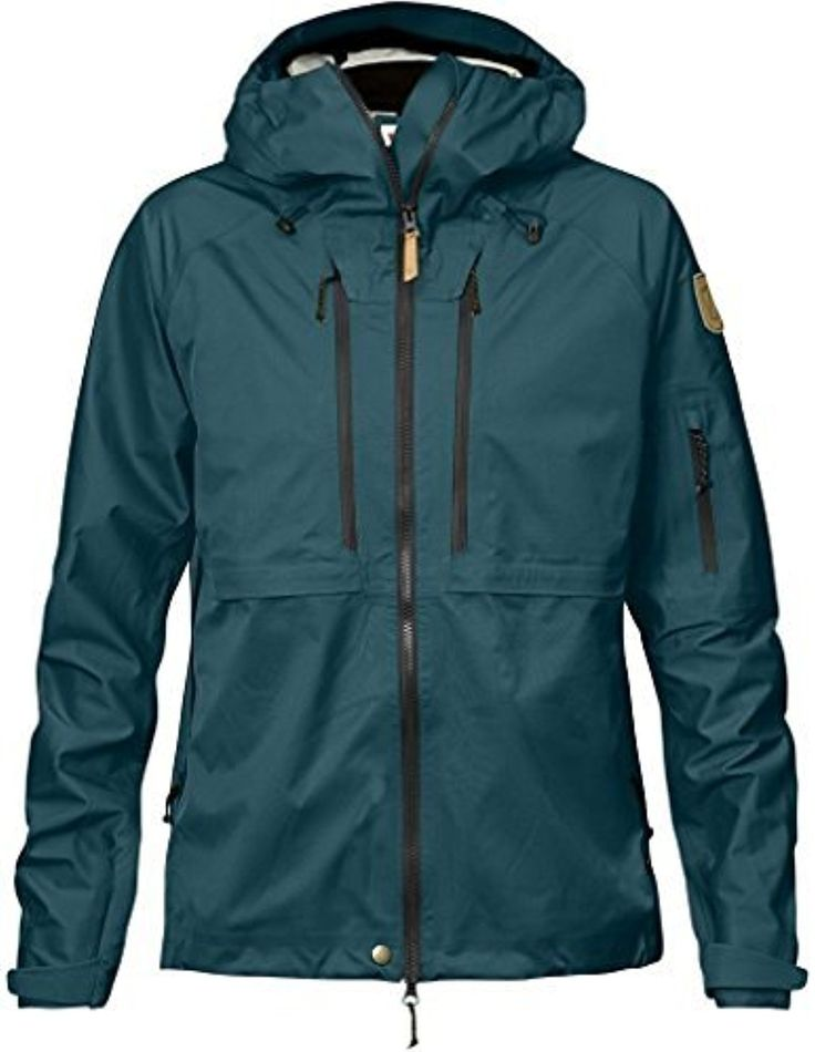 Fjällräven Women's Keb Eco-Shell Jacket Glacier Green XL & HDO Cap Bundle -- Awesome products selected by Anna Churchill