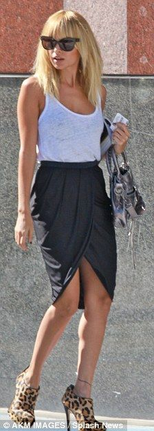 tulip skirt and tank u very much this look is hot