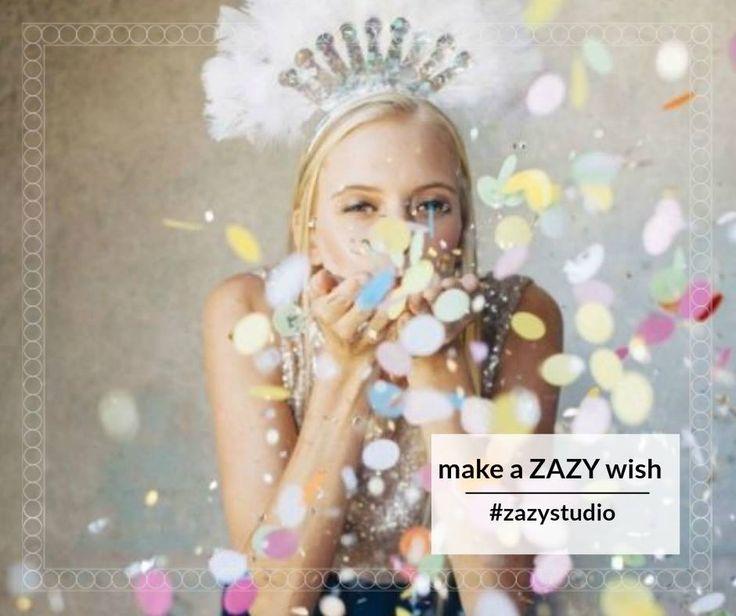 """Dacă dorința ta este să ai un păr superb de sărbători, noi o îndeplinim! Pachetul """"Make a ZAZY wish"""" conține: spălat, tuns, manoperă vopsit, aranjat.  Preț pentru păr lung: 75 lei în loc de 140 lei Get the ZAZY look: 0720.307.202! #zazystudio #makeazazywish #decembrie #cluj"""