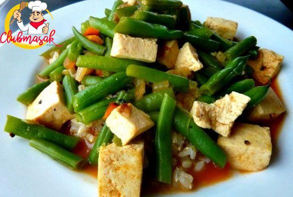 Resep Hidangan Sayuran Tumis Kacang Panjang, Makanan Sehat Untuk Diet, Club Masak