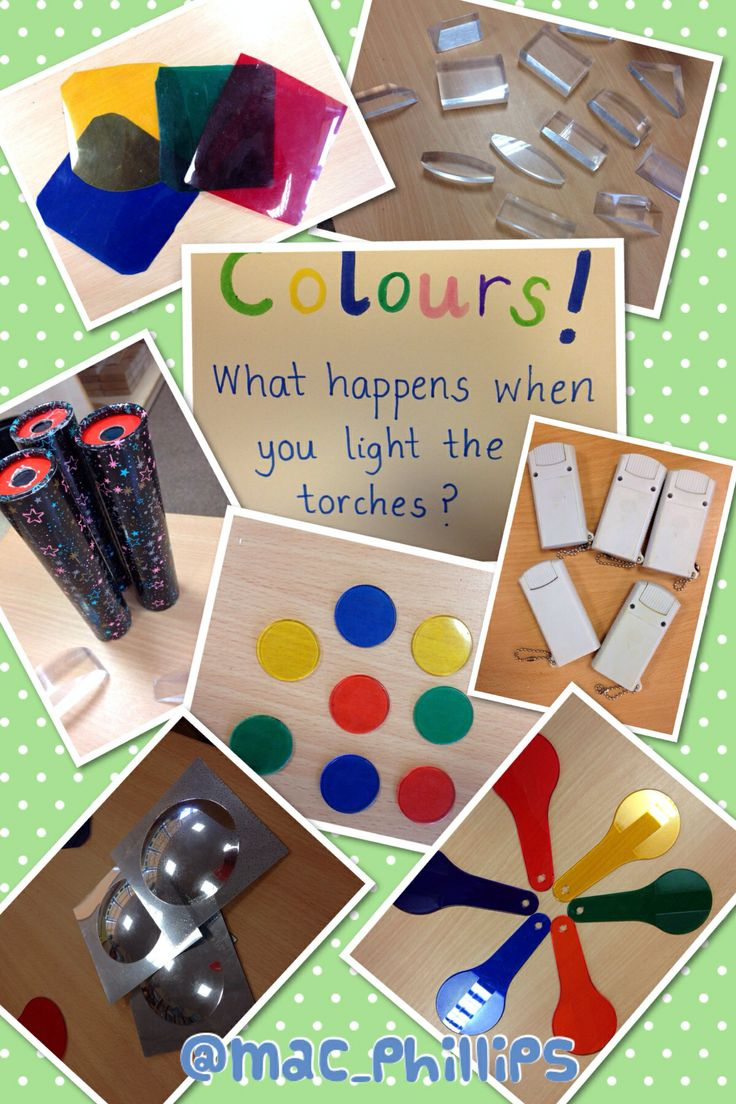 Colours and torch investigation