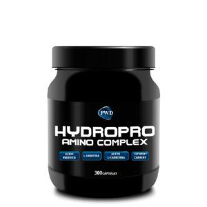 HYDROPRO AMINO COMPLEX es la más alta exigencia en calidad. Basado en hidrolizado de proteína de suero Optipep® Carbery y constituído por péptidos de suero hidrolizado. Con Ácido Pirúvico puro, L-Ornitina añadida, BCAA en proporción 3:1:1 y gran cantidad de Acetil L-Carnitina. Todo ello con 0% de carbohidratos, 0% de grasa, sin gluten y sin lactosa. La máxima pureza y anabolismo.