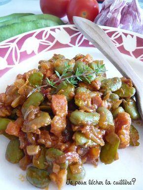 Les f ves fra ches tomate lardons je peux l cher la - Cuisiner les girolles fraiches ...