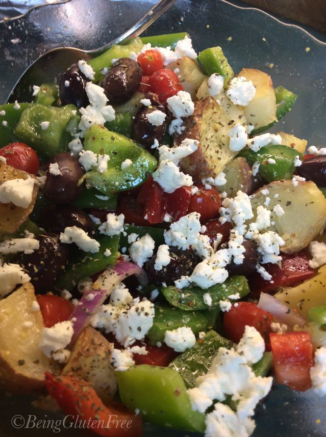 Great #gameday #glutenfree goodies-Potato-Salad-