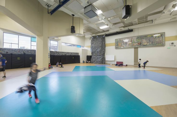 Emily Griffith Campus, Downtown Expeditionary School, vertical campus, gym  Architecture:  hord | coplan | macht  Interior Design: hord | coplan | macht
