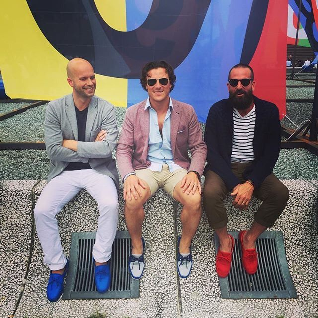 #pittiuomo #swims New Boat Loafers SS17 #ss17 #firenze
