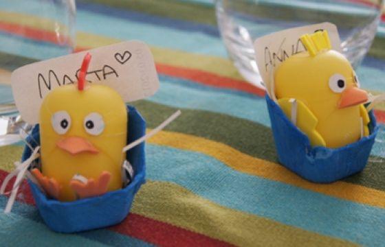 Tutorial per dei segnaposto pasquali, semplici e colorati da preparare insieme ai bambini