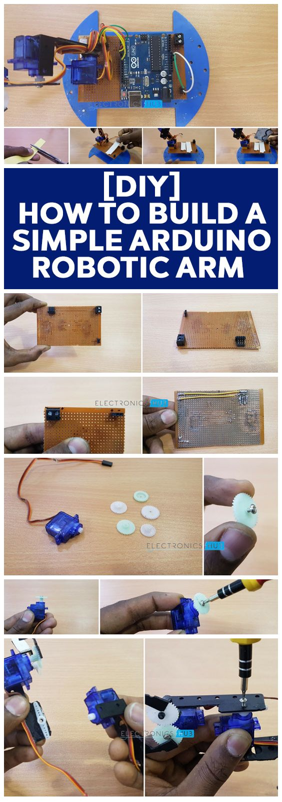 1129 Best Tecnologia Images On Pinterest Electronics Projects List Of Online Circuit Simulator Gadgetronicx Robotic Arm Is One The Popular Concepts In Community Arms Are