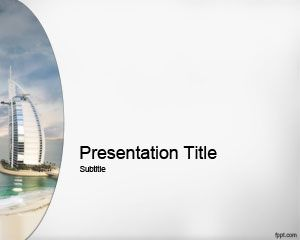 37 best travel powerpoint templates images on pinterest plants free dubai building ppt template with gray background toneelgroepblik Choice Image
