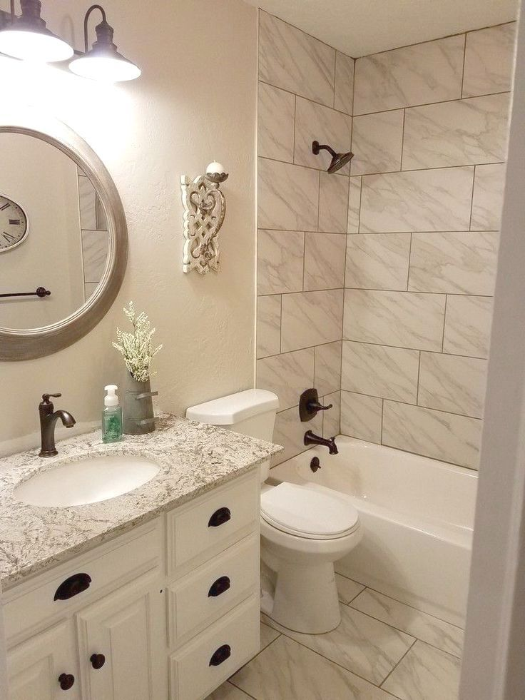 41 Awesome Small Full Bathroom Remodel Ideas Homenthusiastic Full Bathroom Remodel Small Full Bathroom Small Bathroom Remodel