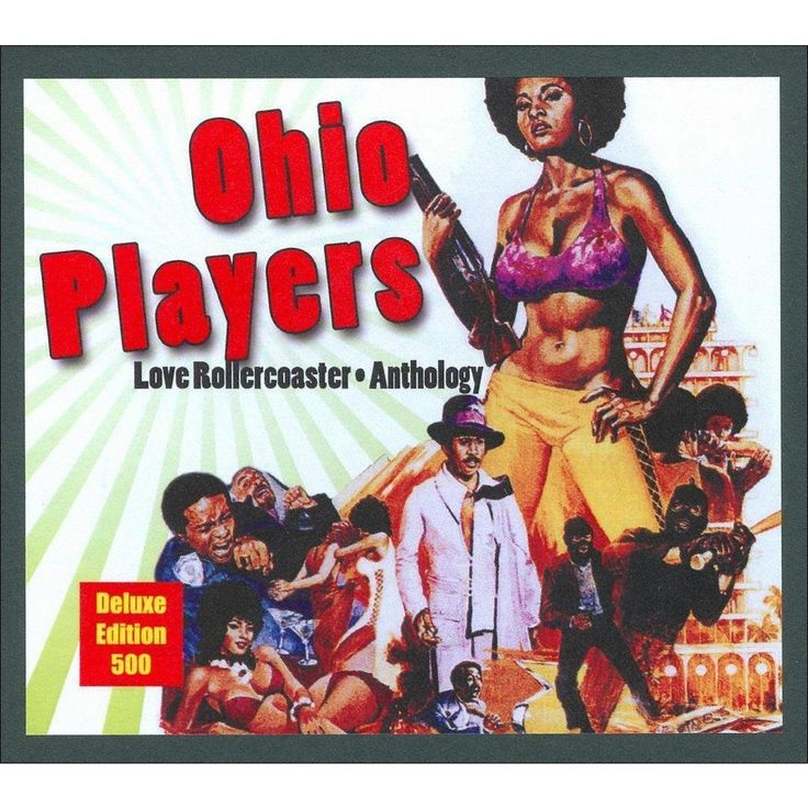 The Ohio Players - Love Rollercoaster: Anthology (CD)
