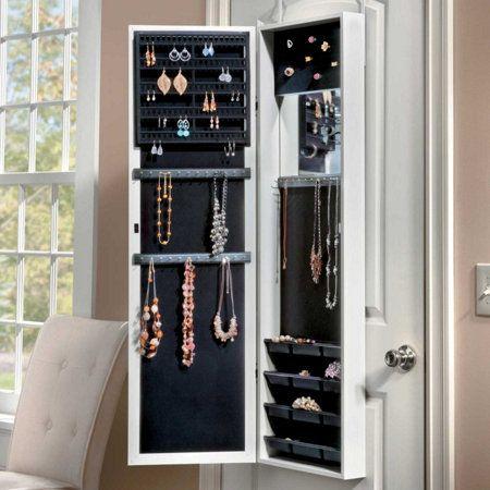 Over The Door Jewelry Armoire