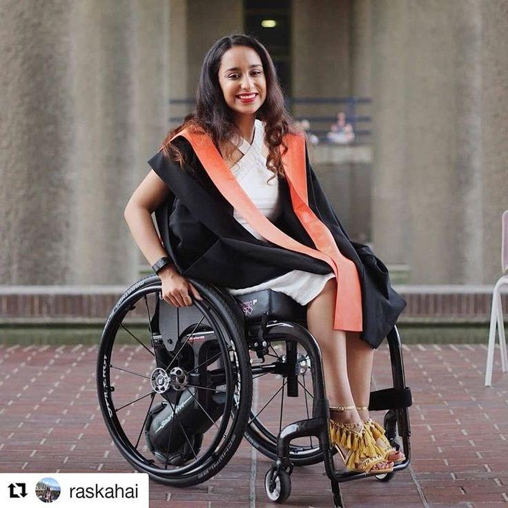 Spanish girl in wheelchair
