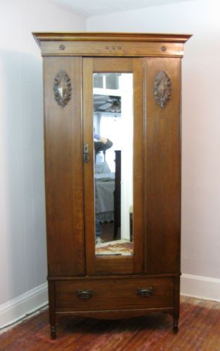 stained wood armoire 22 best armoire images on pinterest wardrobe closet antique