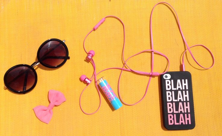 Must haves for a beach day