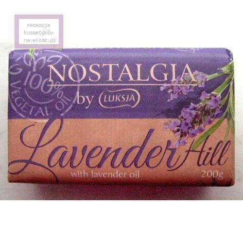 Mydło z olejkiem lawendowym (Luksja, Nostalgia by Luksja, Lavender Hill with Lavender Oil) - cena, opinie, recenzja | KWC
