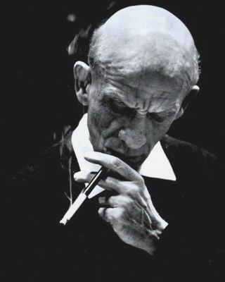 Dimitris Metropoulos -- Famous Greek composer, pianist and conductor.He made his debut with the Boston Symphony Orchestra, he worked with the New York Philarmonic with Leopold Stokowski and was the principal conductor of the Metropolitan Opera till his death