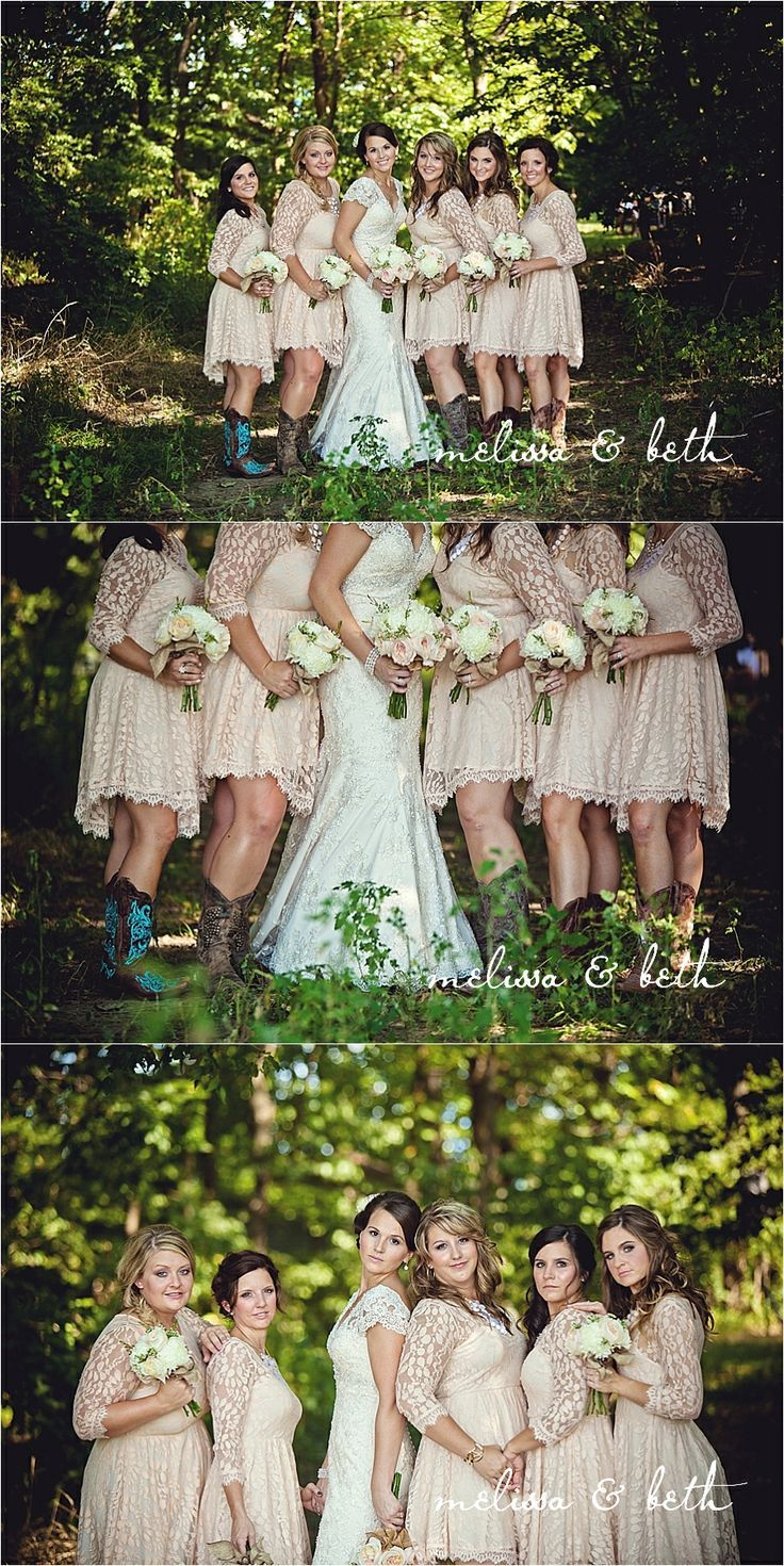 Short western style wedding dresses   best Wedding images on Pinterest  Casamento Promise rings and