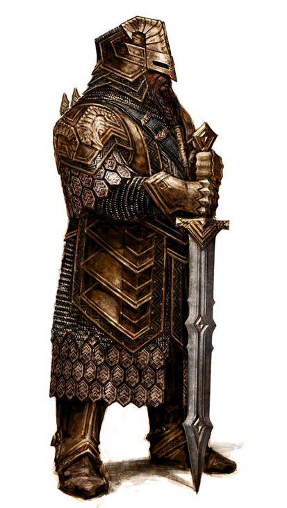 Erebor Heavy Regal Armor Nobleman 3.