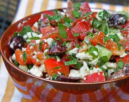 Greek Salad Salsa