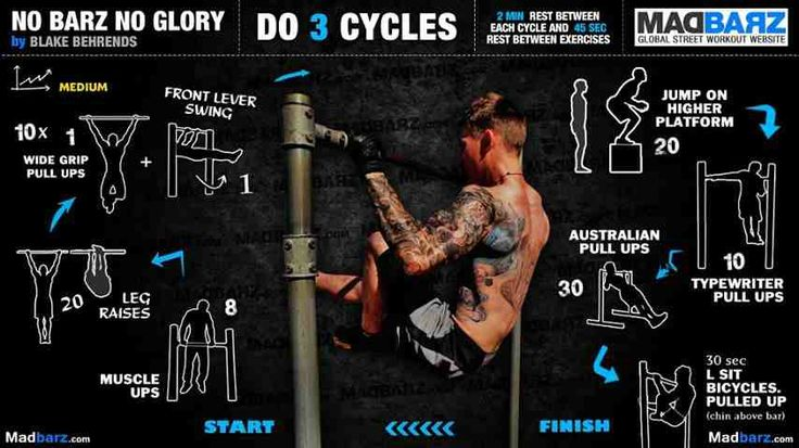 Street workout cycles | Sports | Pinterest | Workout ...