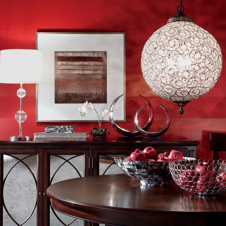 Non Traditional Wall Décor Ideas To Make A Bold Statement: Best 25+ Red Dining Rooms Ideas On Pinterest