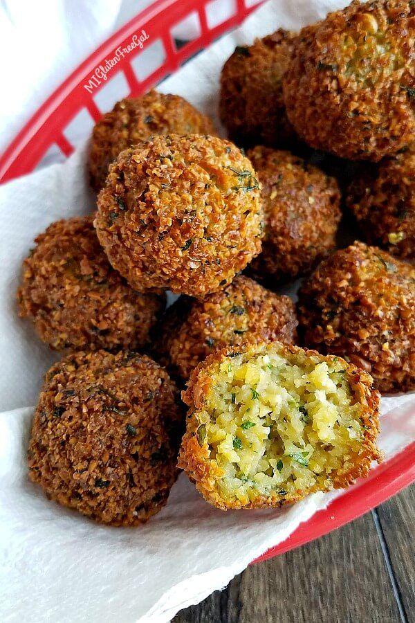 Gluten Free Falafel Vegetarian Chickpea Balls