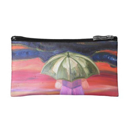 Facing The Storms Small Cosmetic  Bag - custom gift ideas diy