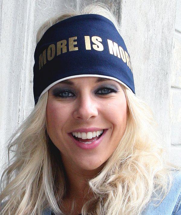 More is more -kääntöpanta, sinivalkoinen. TILAA omasi osoitteesta www.mewe.fi. #KristaSiegfrids