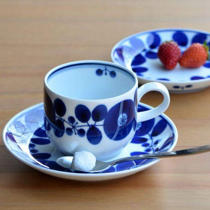 Hakusan pottery classic Bloom Series, handpainted